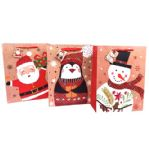 144 Units of Extra Large Glossy Christmas Gift Bag - Christmas Gift Bags and Boxes