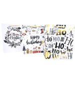 144 Units of Large Christmas Gift Bag - Christmas Gift Bags and Boxes
