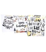 144 Units of Extra Large Christmas Gift Bag - Christmas Gift Bags and Boxes