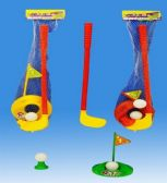 48 Units of Golf Set In Net Header Card - Sports Toys