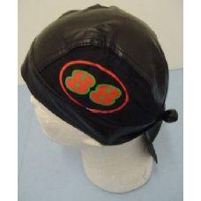 72 Units of Leather-Like Skull Cap-88 - Bandanas