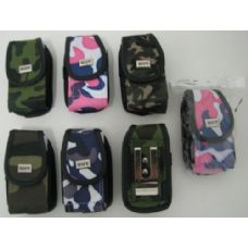 96 Units of Camo Cell Phone Case-Velcro - Cell Phone Accessories