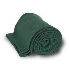 24 Units of Jersey Fleece Throws / Blankets - Forest - Fleece & Sherpa Blankets