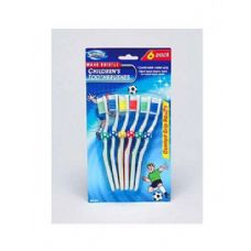 72 Units of 6PC SOCCER TOOTHBRUSH