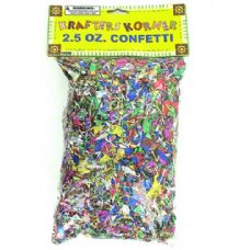 72 Units of Jumbo craft confetti pack - Streamers & Confetti
