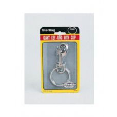 72 Units of Giant key ring with clip