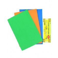 72 Units of Foam Craft Sheets 3 Pack - Foam & Felt
