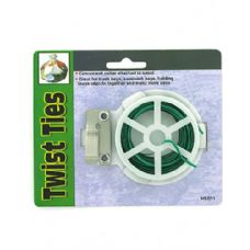 72 Units of Twist ties with reel - Garden Cleanup Aids