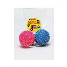 72 Units of Rubber spike dog balls - Pet Toys