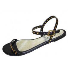 18 Units of Ladies' Open Strap Flat  Size: 5-10 - Women's Sandals
