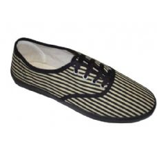 24 Units of Lady Canvas Stripe CVO - Women's Sneakers