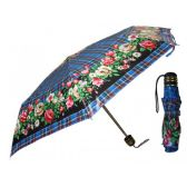 60 Units of 37 Inches Super Mini Tri-Fold Flower Print Umbrella - Umbrellas & Rain Gear