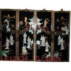 4 Units of 4 Pcs Set Laquer (10 Ladies) - Home Decor