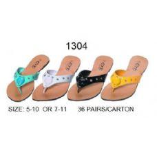 36 Units of Ladies Designer Flip Flop - Women's Flip Flops
