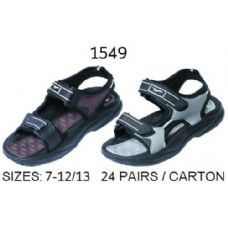 24 Units of Mens Sandal With Strap - Men's Flip Flops & Sandals