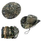 24 Units of Mesh Boonie Hat-Camo - Cowboy & Boonie Hat