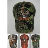 24 Units of Camo Deer Hunter Hat - Hunting Caps
