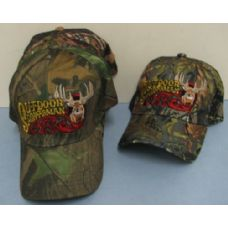 24 Units of Camo Outdoor Sportsman Hat-Deer - Hunting Caps