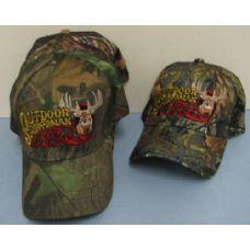 24 Units of Camo Outdoor Sportsman Hat-Deer