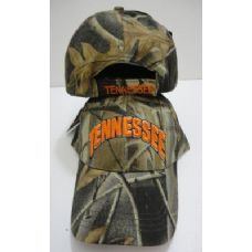 72 Units of Camo TENNESSEE Hat - Baseball Caps & Snap Backs