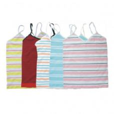 96 Units of WOMEN MICROFIBER SEAMLESS SEAMLESS STRIPE TANK TOP - Womens Camisoles / Tank Tops