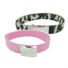 96 Units of COTTON CLOTH BELT ASSORTED COLORS & DESIGNS - Womens Belts