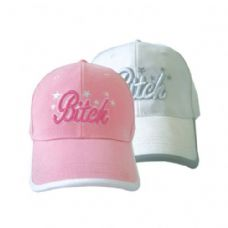 36 Units of B*itch Girls Baseball Cap - Baseball Caps & Snap Backs