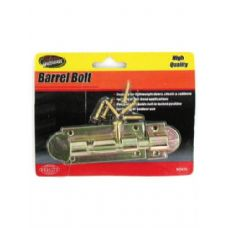 72 Units of Barrel bolt with screws - Drills and Bits