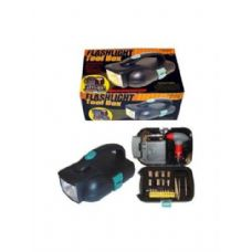 6 Units of Flashlight toolbox - Flash Lights