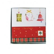 120 Units of 10 PC XMAS CARDS PVC BOX ASSORTED DESIGNS - Christmas Cards