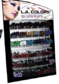 432 Units of La Colors Lip And Eye Liner With Dispaly - Lip & Eye Pencil