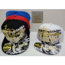 72 Units of Fitted Hat--Hustler King - Baseball Caps & Snap Backs