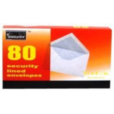 24 Units of Boxed Security Envelopes - #6 3/4- 80 count - Envelopes