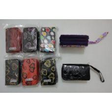 96 Units of 3 Compartment Wallet-Assorted - Wallets & Handbags