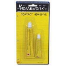 96 Units of Contact Adhesive Tubes - 2 pack - 7 ml + 15 ml - Glue Office and School