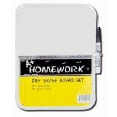 48 Units of Dry Erase Board w/ Marker - 11 x 8 - CHALK,CHALKBOARDS,CRAYONS