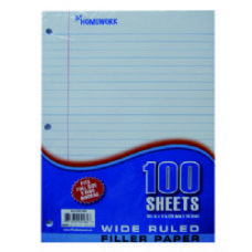 36 Units of Filler Paper - 100 Sh - 10.5 X 8 WR