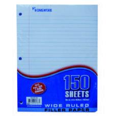 24 Units of Filler Paper - 150 Sh - 10.5 x 8 - WR