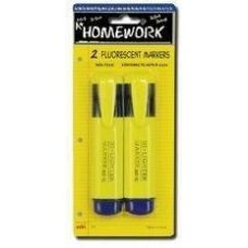 48 Units of Highlighter Markers - 2 pk - Yellow Ink - Markers and Highlighters