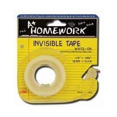 144 Units of Invisible Tape - 3/4 x 300 - w/dispenser - Tape