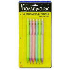 96 Units of Mechanical Pencils - 6 pk - Pencils