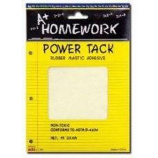 48 Units of Power Tack Adhesive - 75 gram - Flat Sheet - Glue Office and School