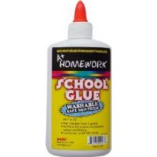 36 Units of School Glue - White - Washable - 8.0 oz each - Glue Office and School