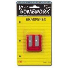48 Units of Sharpener - Pencil - Duel Metal Blades - 2 hole - Sharpeners
