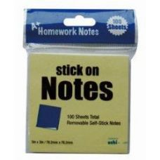 48 Units of Stick On Notes 3x3 100 Sheet - Sticky Note/Notepads