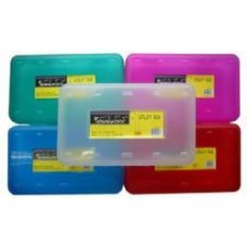 24 Units of Storage Plastic Box - 8 x 4.5 x 2 inches - Food Storage Bags & Containers