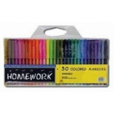 96 Units of Water Color Markers - 12 pk - Broad Tip - Asst. Colors - Markers and Highlighters