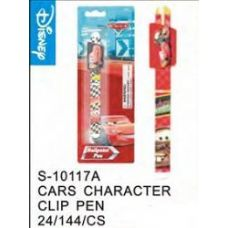 96 Units of Cars Clip Pen Wow Price - Licensed School Supplies