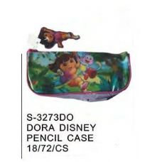 72 Units of Dora Pencil Case - Licensed School Supplies