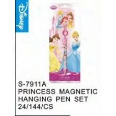 144 Units of Princess Magnetic Hanging Pen - Licensed School Supplies